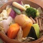 元氣亭 -  ランチの野菜せいろ蒸し