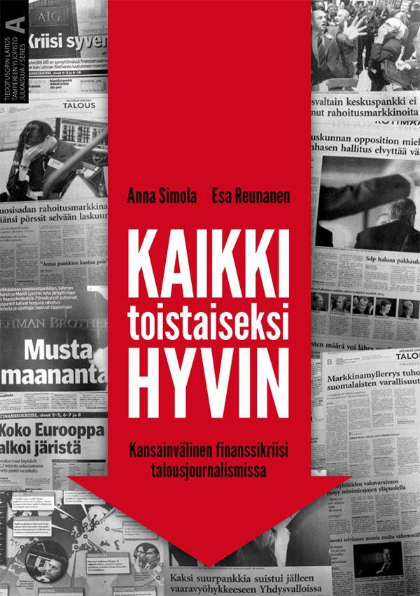 Media vallan verkoissa (Tampereen yliopisto, 2010) Cover design by Teemu Helenius