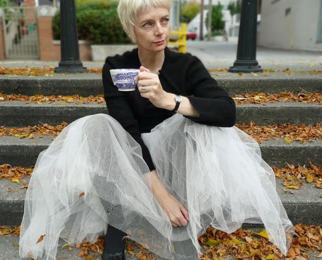 Melanie Kobayashi ~ Bag and a Beret: Everyone needs a ballerina dress