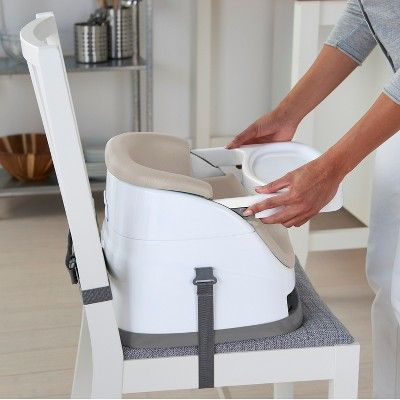 Ingenuity Baby Base 2 In 1 Booster Seat Cashmere