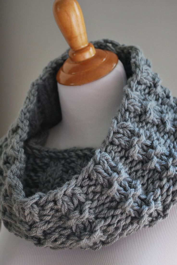 """Just in time for Christmas! This makes a great gift, so I wanted to share  a favorite cowl pattern of mine from my previous blog. It has been a  reader favorite because it knits up super quickly, has a great texture, and  is even reversible. You can easily adjust the size if need be and I've also  included a pattern for knitting this flat. Enjoy!  Materials Size US 13 (9mm) 24"""" Circular Knitting Needles (or see modification for  straight needles below) 2 Skeins of Lion Brand Vanna's…"""