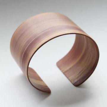 Very cool cuff.  Cedar Cuff