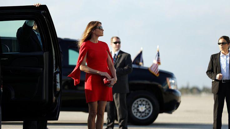 European First! America second?: Melania Trump tappt in die Modefalle