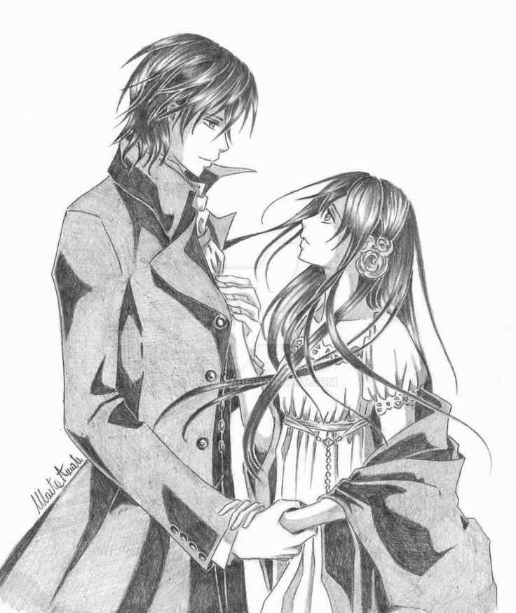 Back to you by Reika77.deviantart.com on @DeviantArt #vampireknight #kaname #kuran #yuki #love #couple #fanart #anime #manga