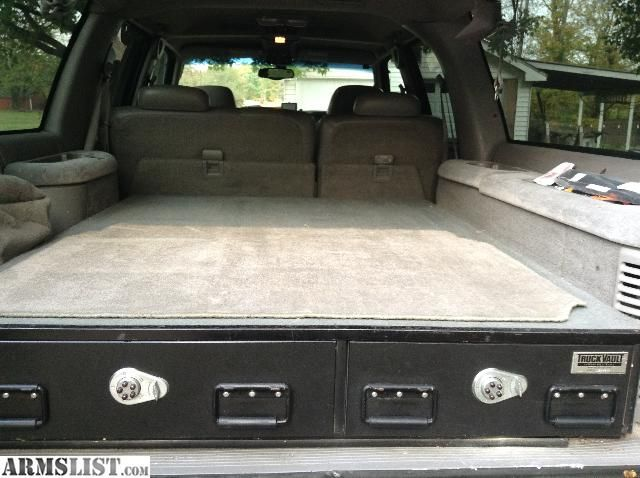ARMSLIST - For Sale: Truck Vault Dual-Drawer for Suburban