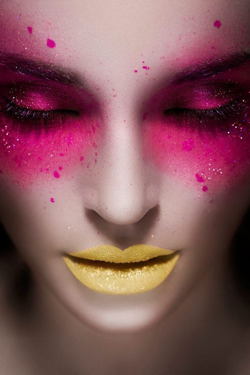 yellow & pink <3