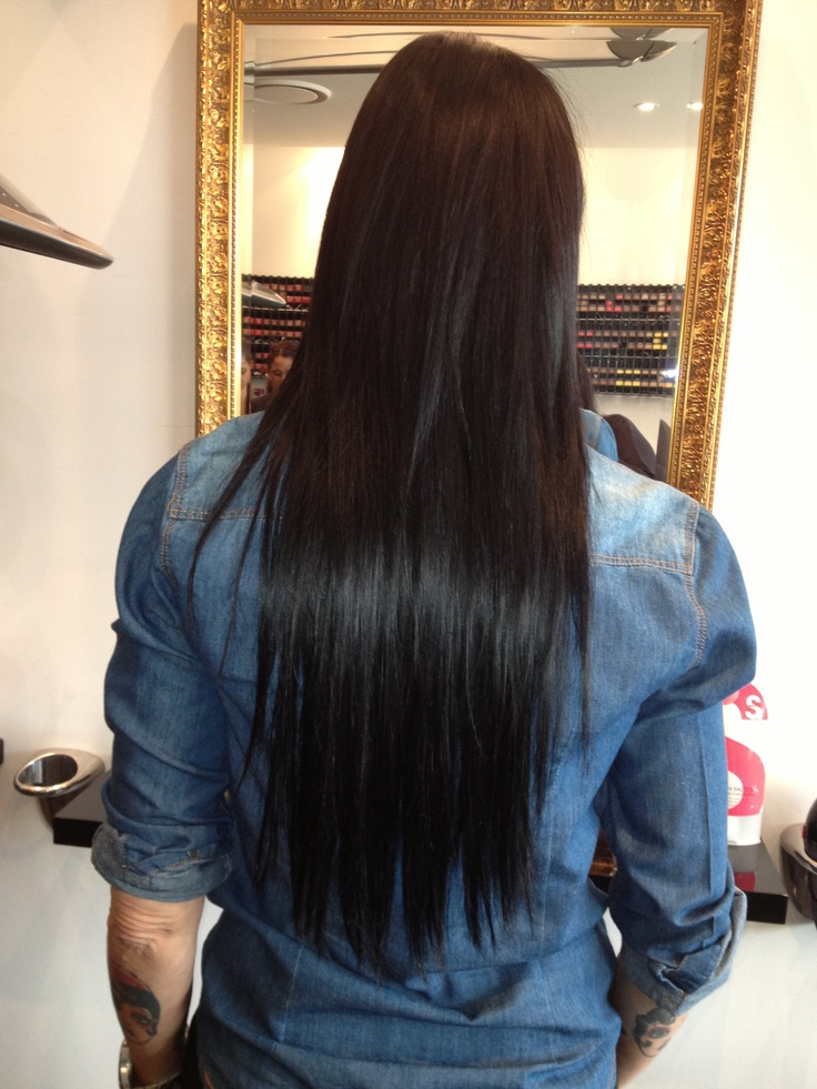 After hair extensions! Inquires 02 9314 1220 x