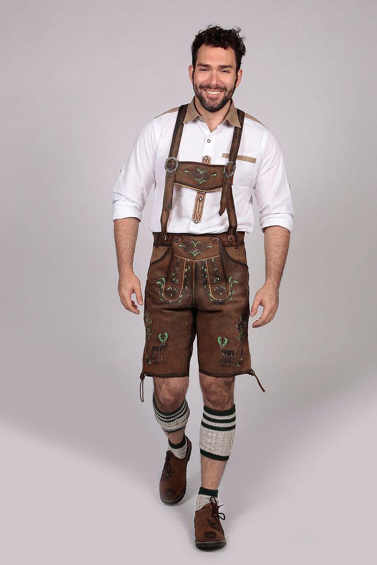 Buy great offers for authentic Lederhosen with bavarian shirts. We have Trachten Lederhosen Knee high mens lederhosen and Bavarian Lederhosen costume