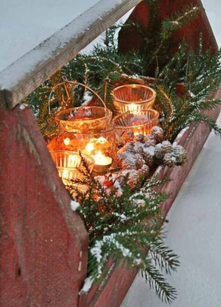 89 best images about decorations exterieur de noel on for Decor de noel exterieur