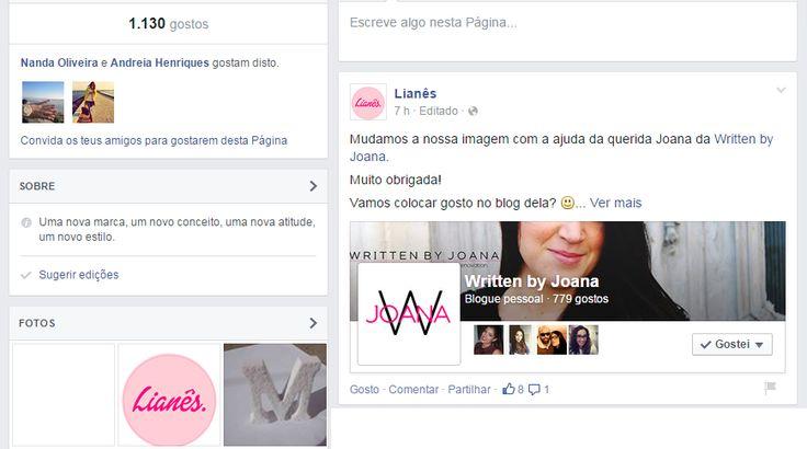 Written by Joana: Logótipos   Lianês