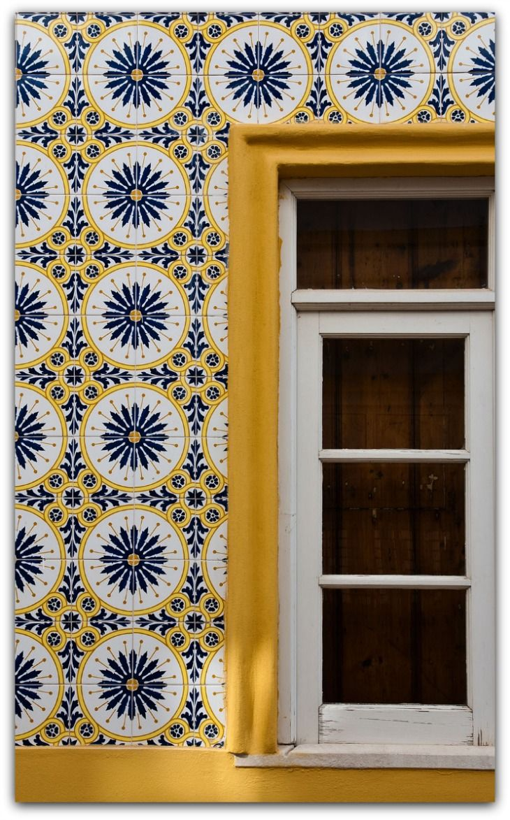 Tiled House - Alentejo, Portugal A traditional tiled Portuguese house