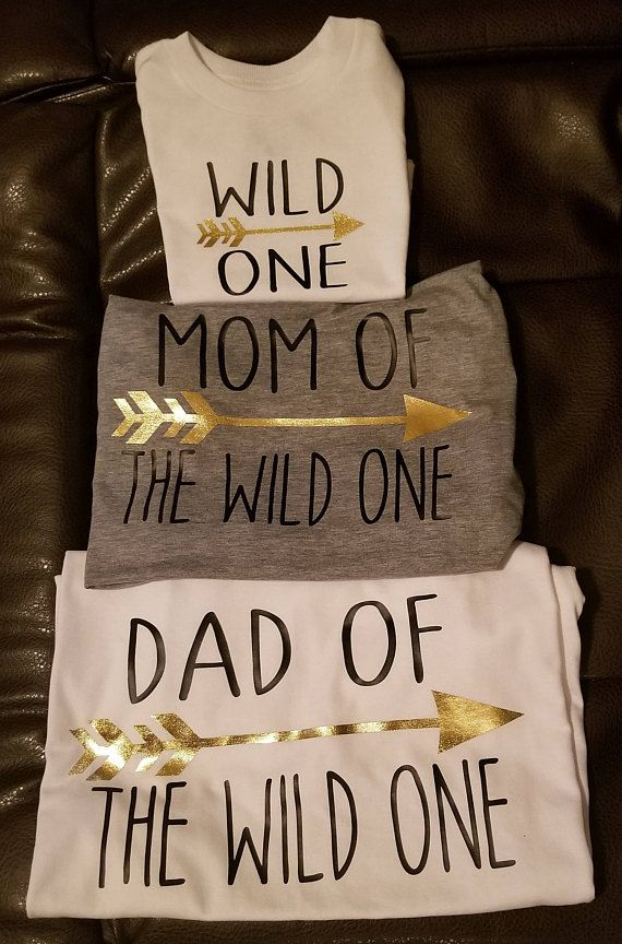50f6d1113 Wild One Birthday Shirts for the whole family. Shirts are customized to fit  any of your needs. Please comment how many shirts are needed, ...