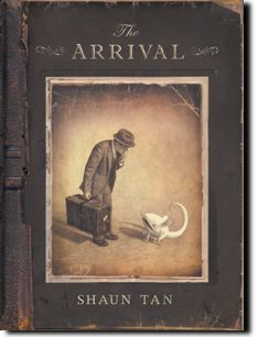 A textless graphic novel, in black, white and sepia, The Arrival draws its inspiration from tales of migrants in past and recent times.