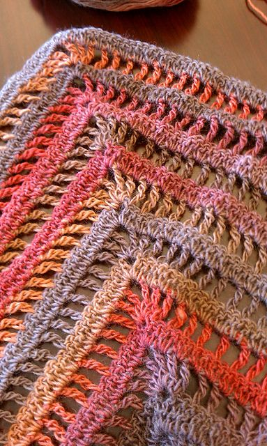 The Lydia Shawl: free quick & easy crochet pattern & chart