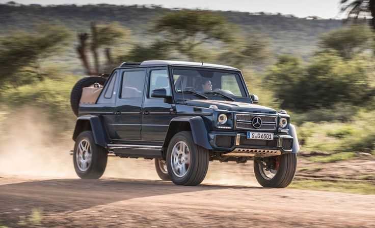 The Mercedes-Maybach G650 Landaulet Is the Most Over-the Top SUV on Earth
