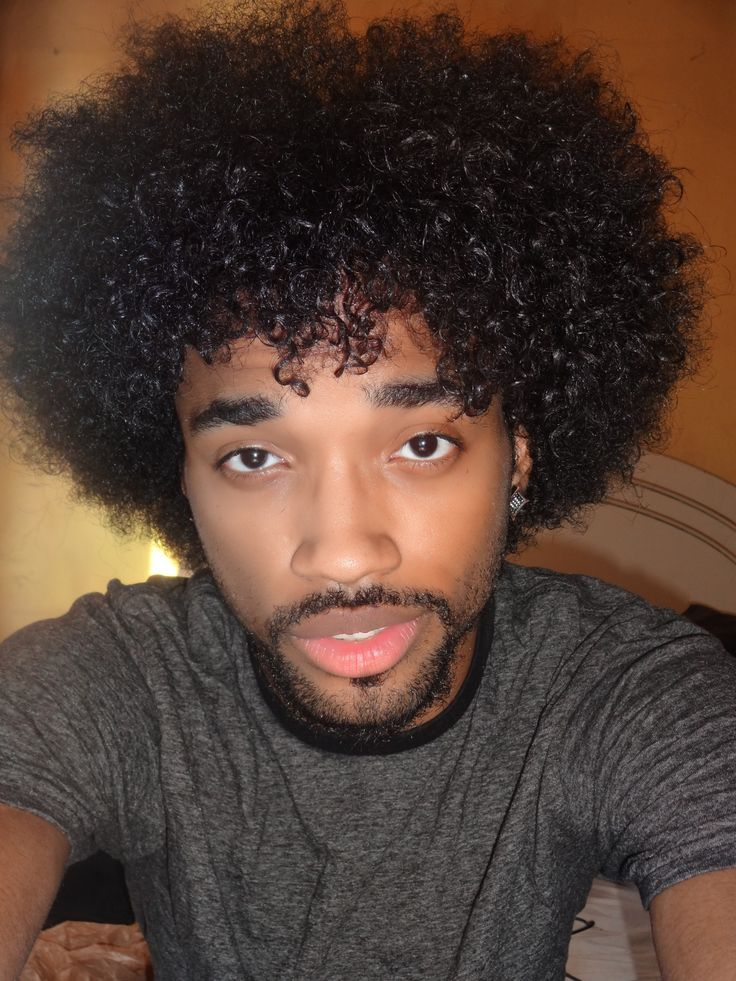 139 Best Men S Afros Images On Pinterest Curly Hair