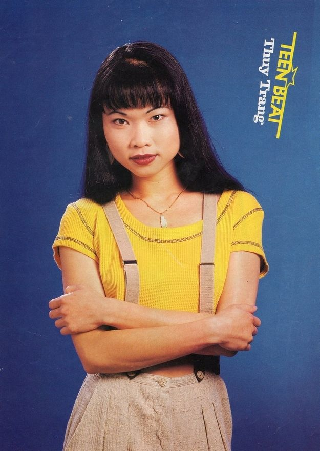 """The Yellow Ranger then: 
