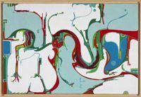 """Alex Janvier at the National Gallery: """"first indian modernist"""", Kandinsky meets Dene beadwork."""