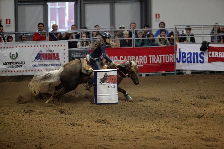 #westernshow #horses Barrel racing