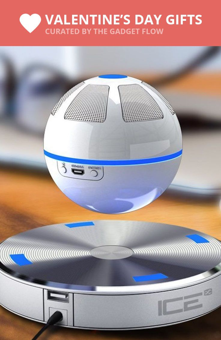 Listen to your music in a magical way with the ICEORB Floating Bluetooth Speaker.