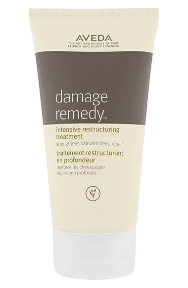 Free shipping and returns on Aveda 'damage remedy™' Intensive Restructuring Treatment at Nordstrom.com. An intensive weekly treatment deeply penetrates to help repair, seal and smooth even the most damaged hair. Using the power of pure plant oils and quinoa protein, it restores health, silkiness and shine.<br><br>Features and benefits:<br>- Part of a four-step restructuring system.<br>- Helps strengthen hair weakened by chemical processes, heat styling and environmental exposure.<br>- Quinoa…