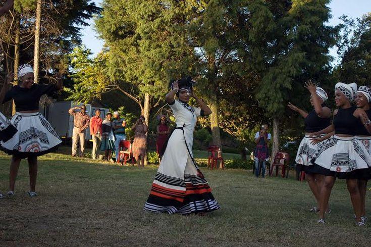 xhosa bride- south african wedding blog