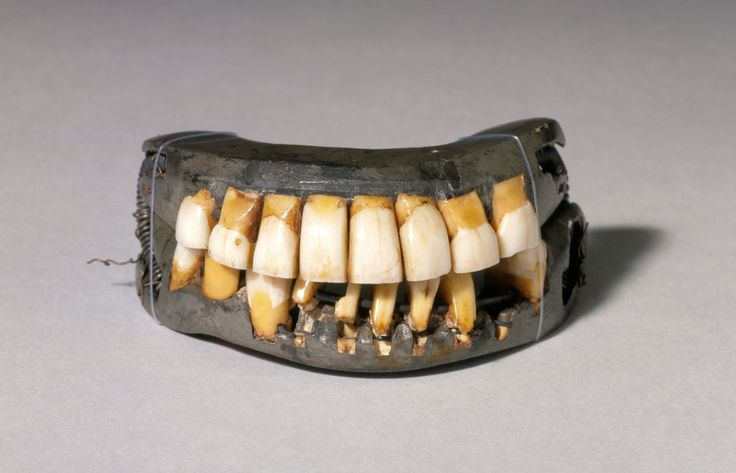 Drilling Holes in George Washington's Wooden Teeth Myth