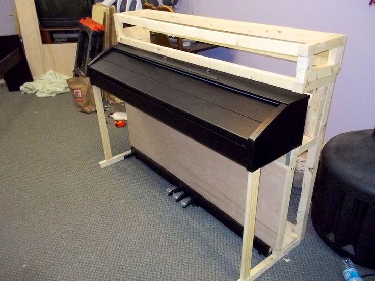 DIY Living Room Cabinet for PX-750 | Digital Pianos - Synths & Keyboards | Piano World Piano & Digital Piano Forums