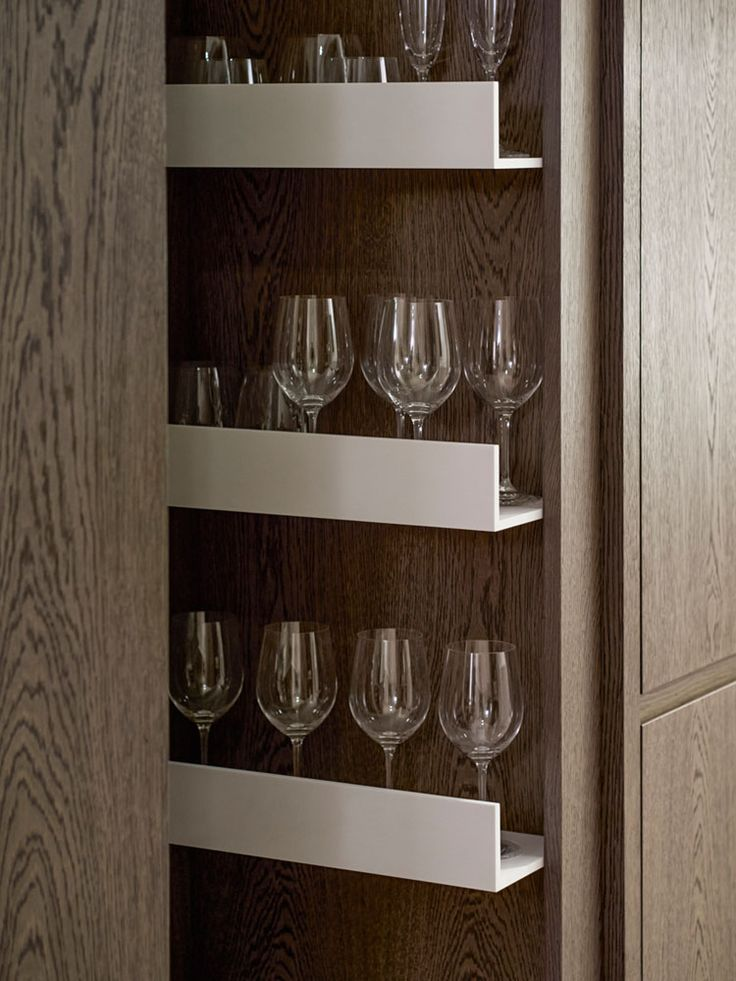 Kitchen organizing   Luxurious and Exquisite Fitzroy Place Interior