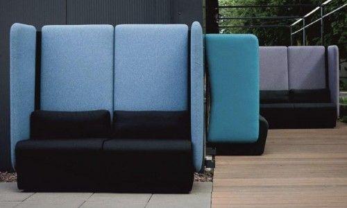 MONT to system foteli i sof, który pozwala schować się w biurze na chwilę w samotności lub w grupie.