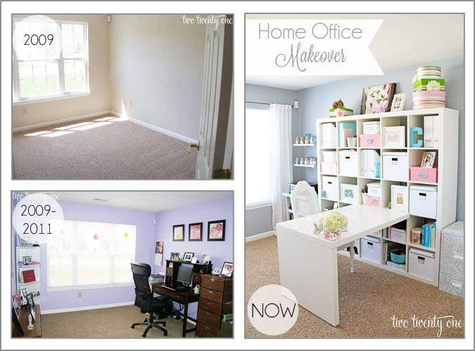 Fantastic Home Office Makeover Ideas 21 Photographs