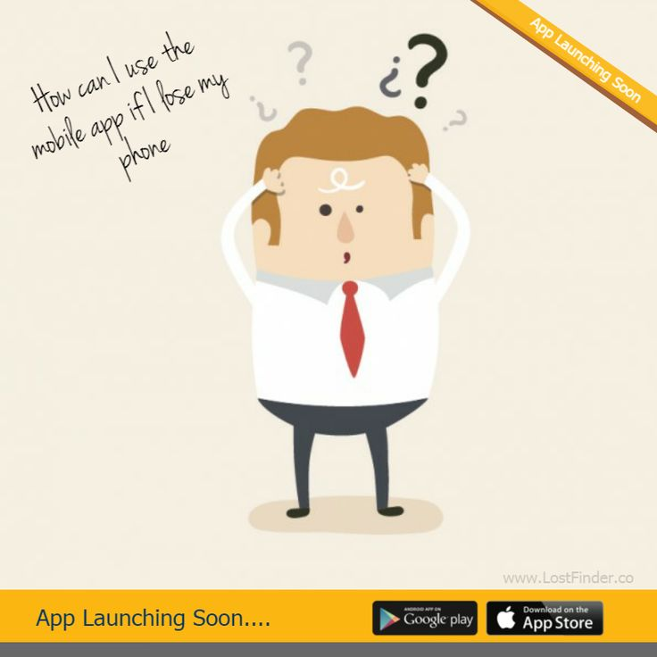 """""""How can I use the mobile app if I lose my phone""""- J Tricky! We suggest asking your friends help by asking them to add a listing in the Lostfinder app on behalf of you. We are working on desktop website (still in development) which you can use as well once it's live. For more details visit our website: http://lostfinder.co/ #Lost #Found #LostFinder"""