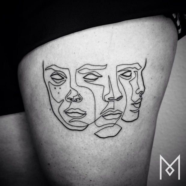 Mo Ganji, artiste tatoueur - Journal du Design