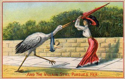 Early twentieth century birth control ad. Almost as funny as the Dannon yogurt birth control commercial