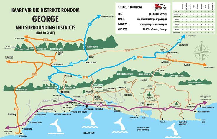 George Tourism - Maps PRINT