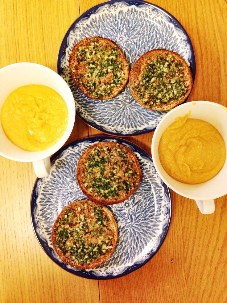 Morots- och linssoppa med ingefära