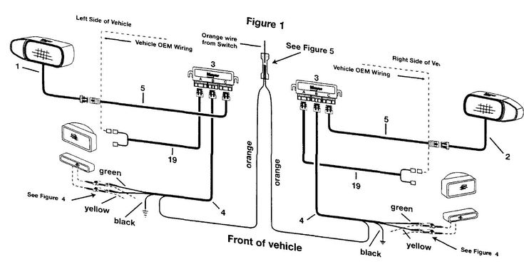 Meyers Snow Plow Lights Wire Diagram Unique In 2020