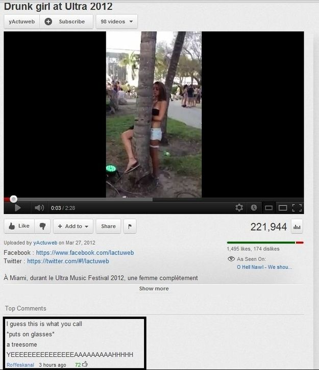 Best Funny Youtube Comments Ideas On Pinterest Youtube - The 26 funniest youtube comments of all time