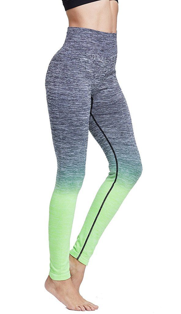 f328a9191405d RUNNING GIRL Ombre Yoga Pants Ultrasoft Performance Active Stretch High  Waisted Running Leggings Get your soft