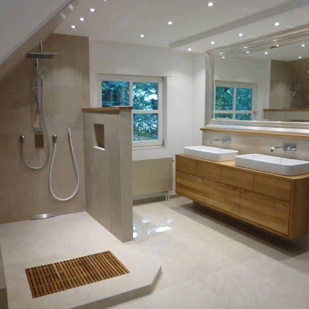 die besten 25+ bad ideen auf pinterest | badezimmer beige, luxus ... - Badezimmer Ideen Dachgeschoss