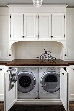 Concealed Laundry General Contractor Rob Roster Came Up With A Clever Solution For Reaching The