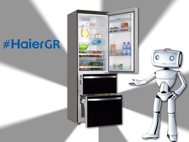 Έχετε δει τα νέα ψυγεία της #Haier;
