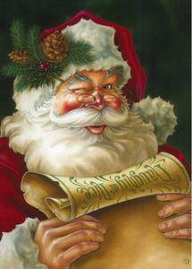 Santa's List Christmas Garden Flag                                                                                                                                                                                 Mais