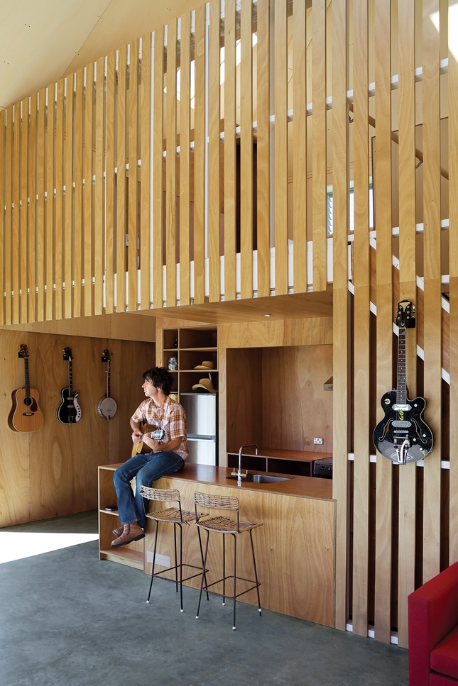 Musical Man Cave -- not just for men any more! Most of my family would like this cave....