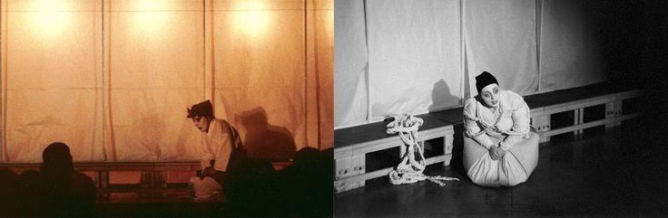 LA MADRE  -  bn: Scene, costumi e luci di Renato Morselli. col: Costumi di Sakura Fujita, scene e nuove luci di Renato Morselli