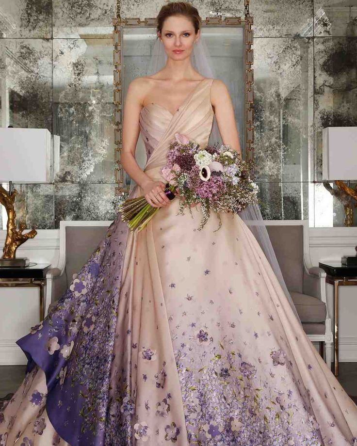 Colorful Wedding Dresses: 85 Best Colorful Wedding Dresses Images On Pinterest