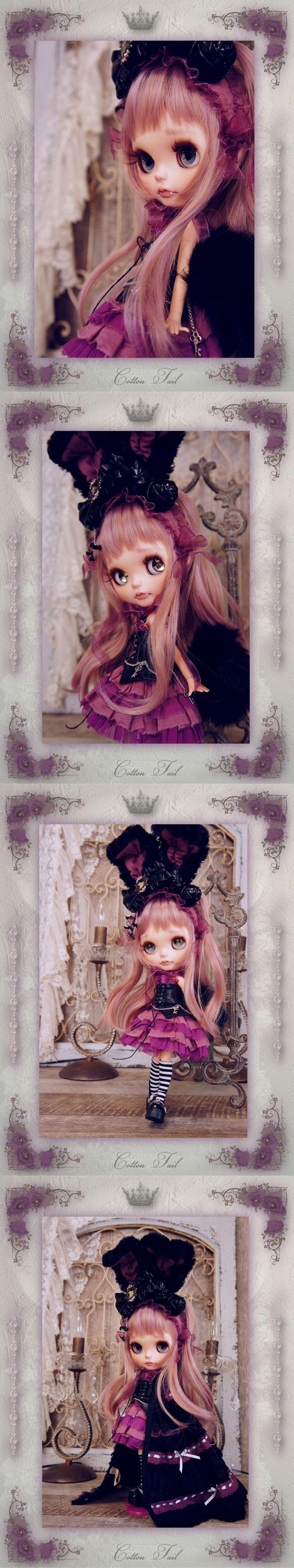 ◆CottonTail◆ 黒うさぎの小悪魔ちゃん *カシ... - ヤフオク!
