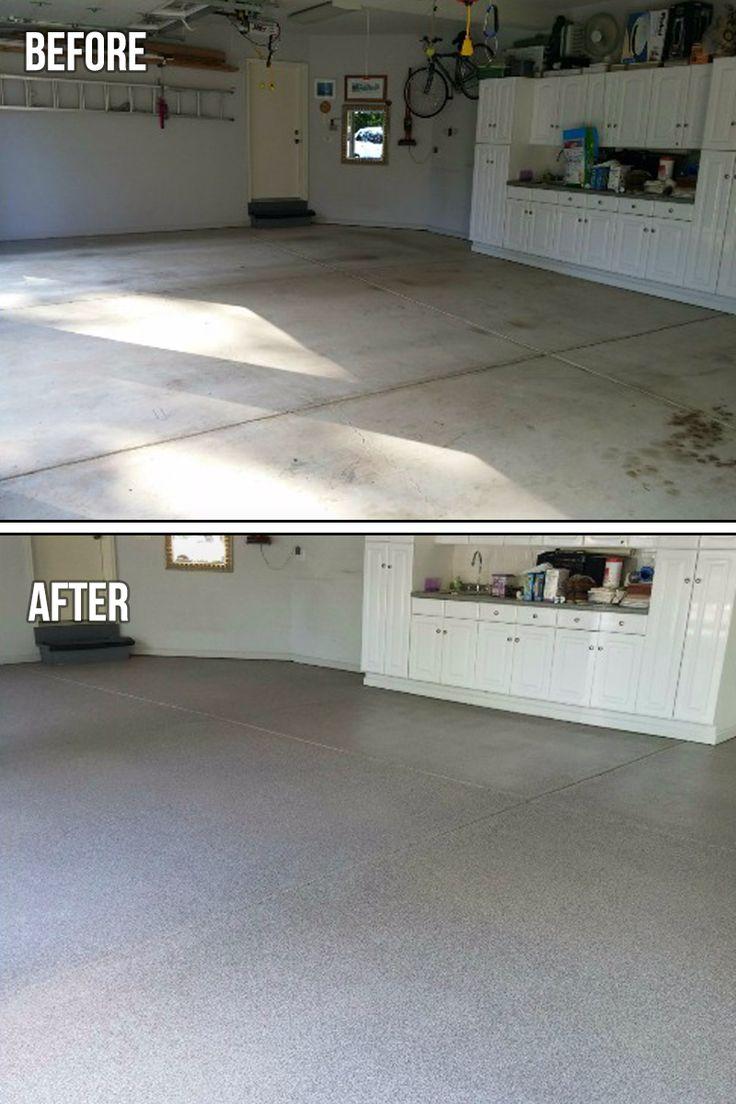 Custom Garage Epoxy Floor Designs: Best 25+ Epoxy Garage Floor Coating Ideas On Pinterest