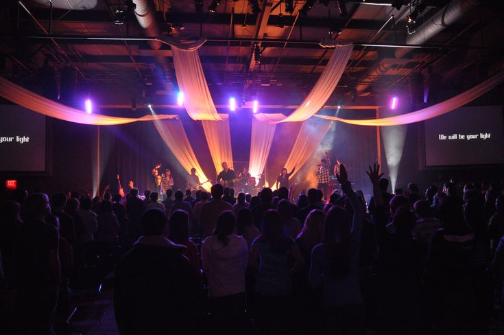 church stage fabric | Fly With Me | Church Stage Design Ideas