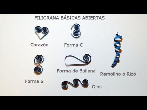 Cómo hacer figuras básicas de filigrana abiertas   facilisimo.com